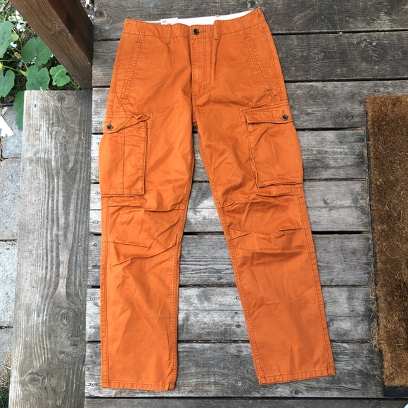 I Poshmark Nwt Levi's Cargo Orange Pants Levis Burnt AqAPH4